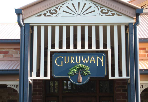Guruwan House Sign