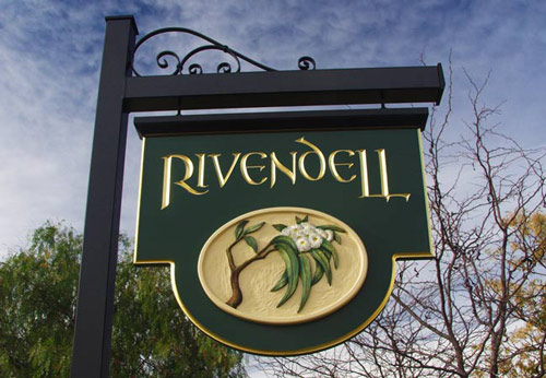 Rivendell Property Sign