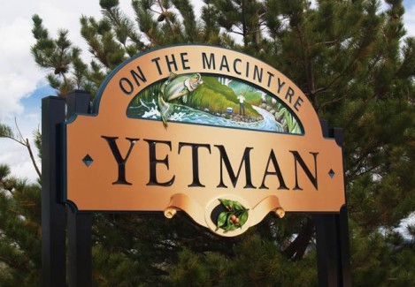 Yetman Entry Sign