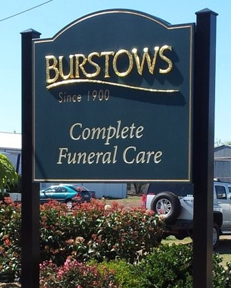 Burstows Business Sign System