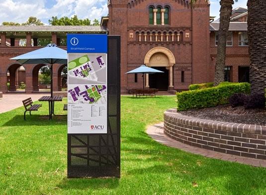 signage-for-australian-catholic-university-in-sydney