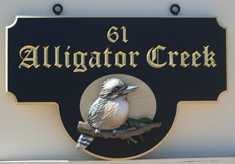 Alligator Creek Property Sign