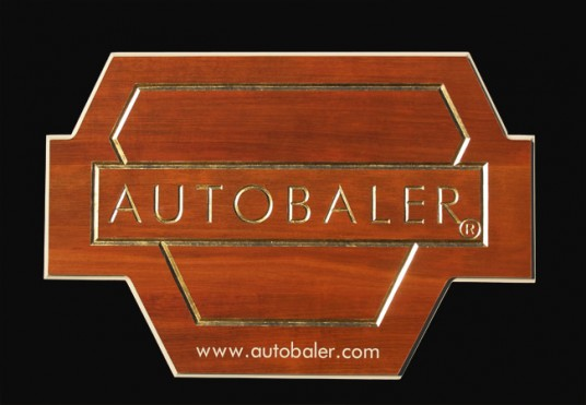 Autobaler Business Sign