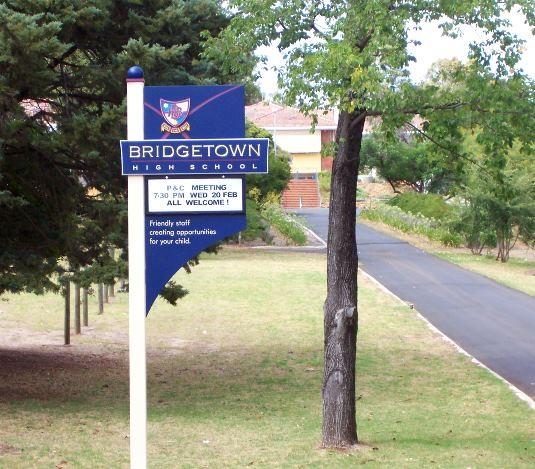 school-signage-western-australia
