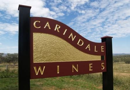 Carindale Winery Sign