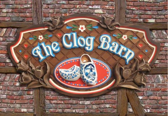 The Clog Barn Sign System
