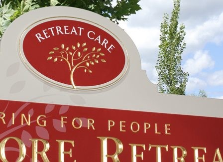 Ashmore Retreat Entry Signs