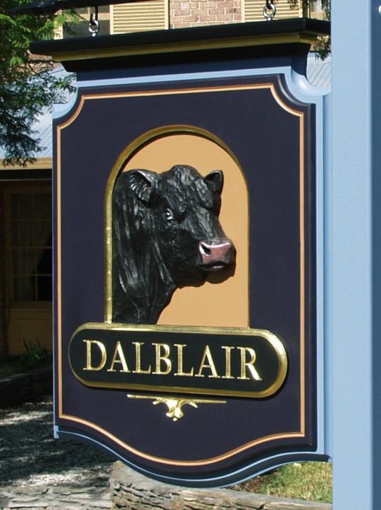 Dalblair Property Sign
