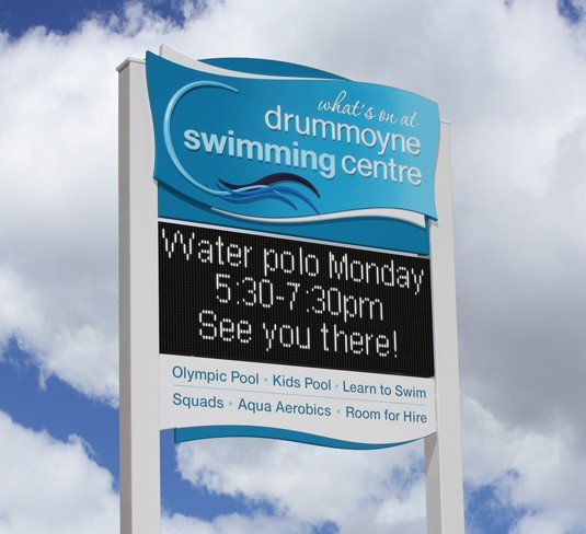 drummoyne-swimming-centre-electronic-sign