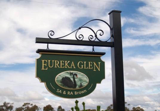 Eureka Glen Property Sign