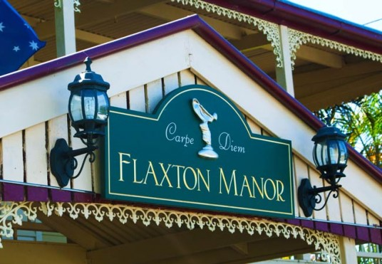 Flaxton manor house sign danthonia designs au for House sign designs