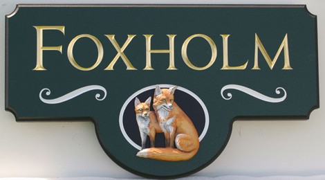 Foxholm Property Sign