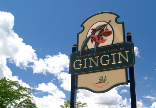 Gingin Local Government Sign