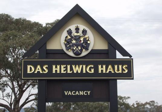 Das Helvig Haus B&B Sign