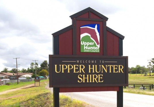 Upper Hunter Local Government Sign System