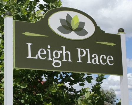 Leigh Place Aged Care Signs