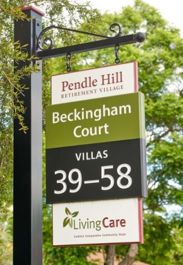 pendle-hill-retirement-village-signs