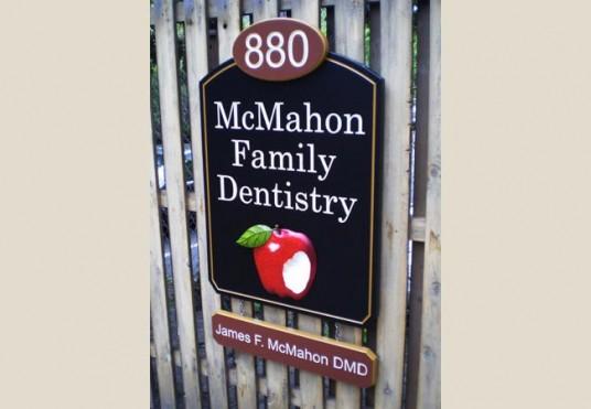 McMahon Family Dentistry Sign