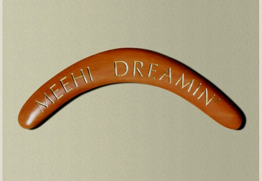 Meehi Dreamin' House Sign