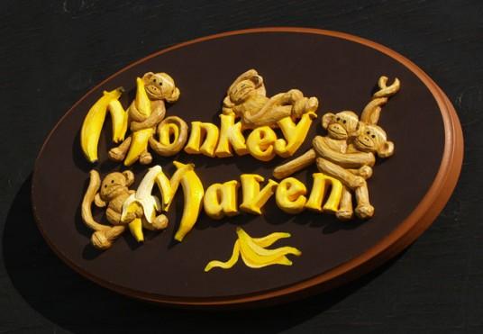 Monkey Maven House Sign