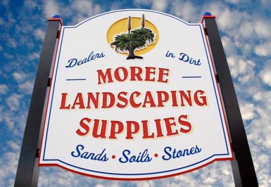 Moree Landscaping Supplies Sign Danthonia Designs Au