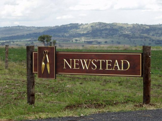 Newstead Property Sign