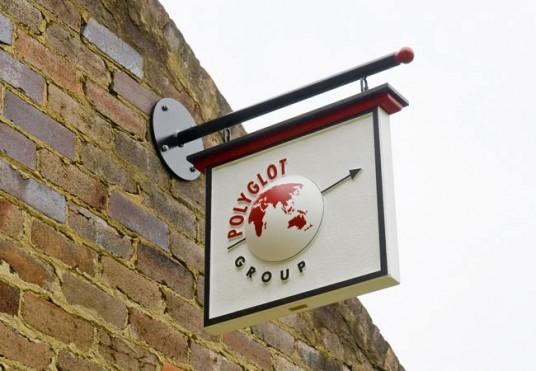 Polyglot Business Sign