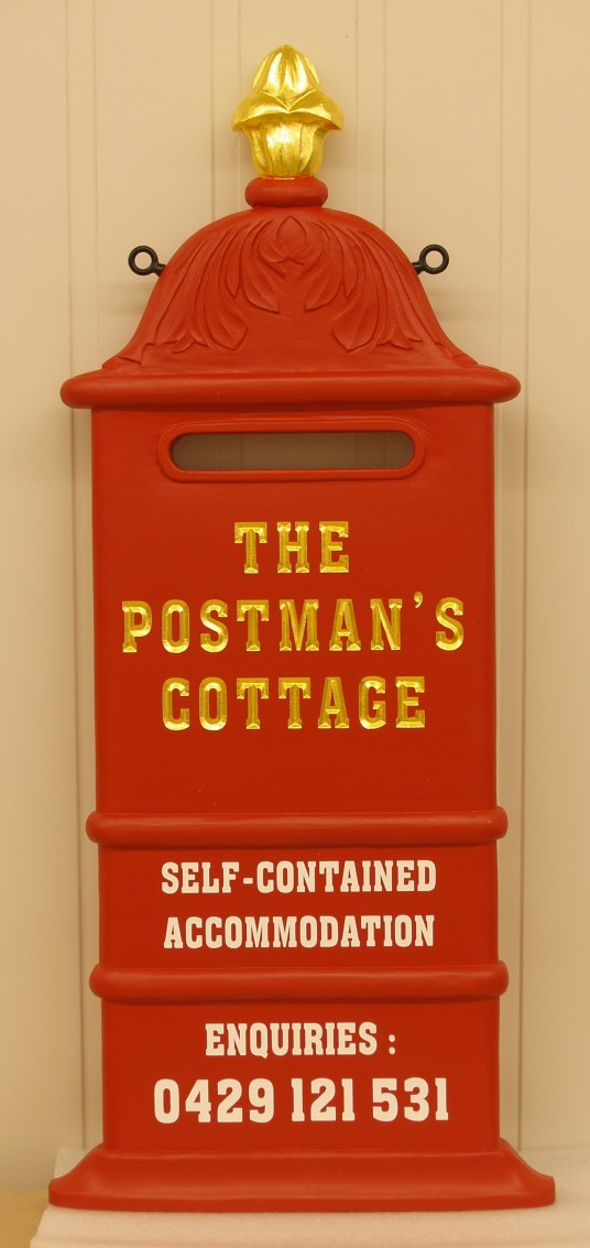 The Postmans Cottage B&B Sign