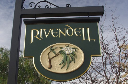 Rivendell Farm Sign