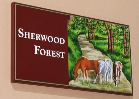 Sherwood Forest Sign