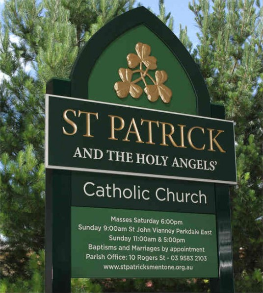 st_patricks_church_dimensional_sign