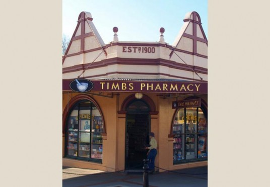 Timbs Pharmacy Healthcare Sign
