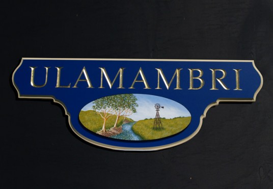 Ulamambri House Sign