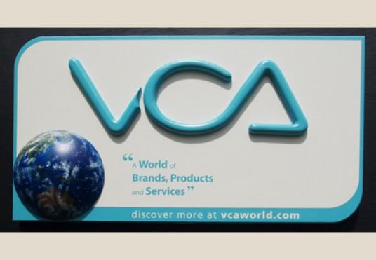 VCA Business Sign