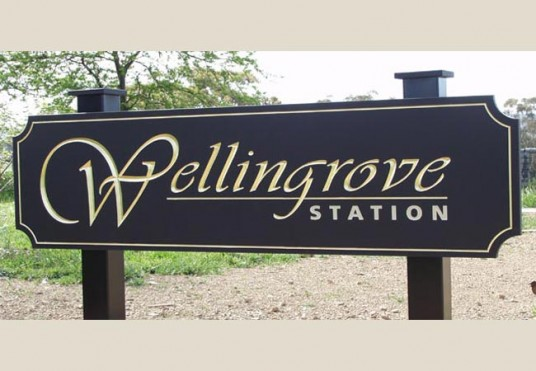 Wellingrove Station Property Sign