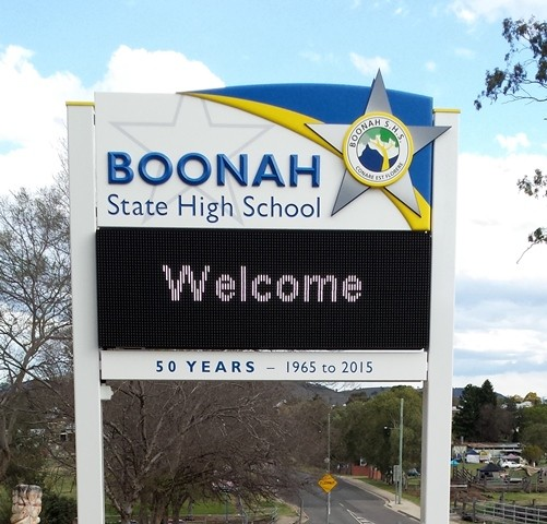 Boonah State High School's Led Sign  Danthonia Designs Au. Generalised Signs. Illuminati Real Signs Of Stroke. Trade Show Signs Of Stroke. Coffee Cup Signs. College Signs Of Stroke. The Vicious Cycle Signs Of Stroke. Occupational Safety Health Signs Of Stroke. Marry Signs