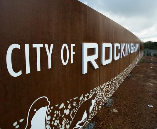 Rockingham Entry Sign Danthonia Designs Au