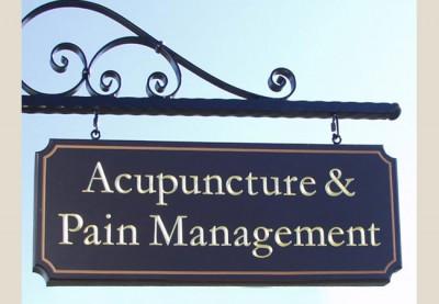 Acupuncture & Pain Management Healthcare Sign