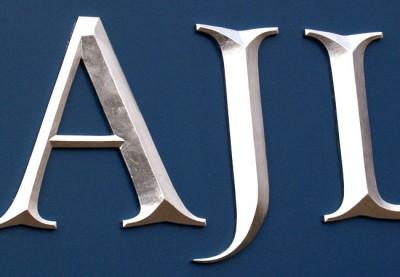 AJL Business Sign