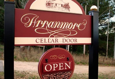Arranmore Winery Sign