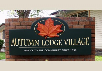 Autumn Lodge Aged Care Sign