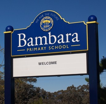 bambara_primary_school_magnetic_messageboard_sign