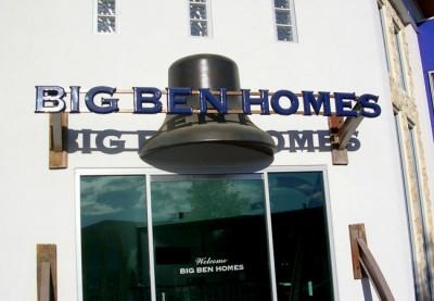 Big Ben Homes Business Sign