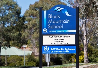 black-mountain-school-changeable-sign