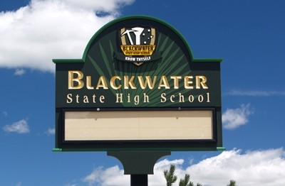 Blackwater State High School Sign System