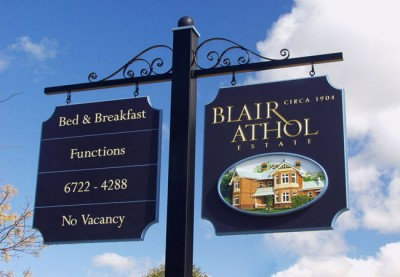 Blair Athol B&B Sign