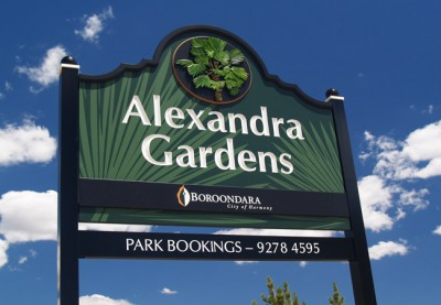 Boroondara Parks Local Government Sign System