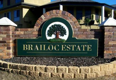 Brailoc Estate Development Sign