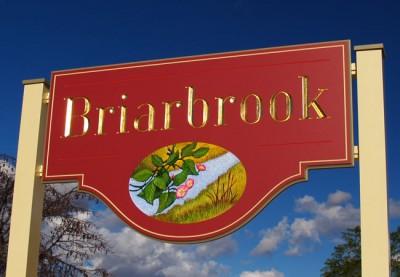 Briarbrook Property Sign