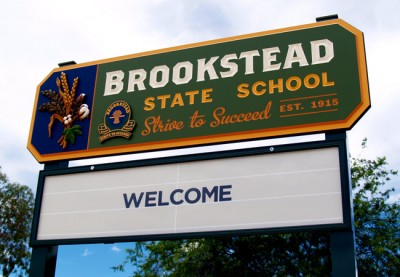 Brookstead State School Entrance Sign